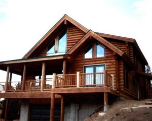 Log House New Construction